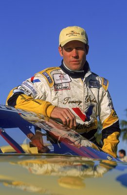 8 Apr 2001:  Brian Simo who drives for Tom Gloy Racing poses for a portrait before the Toyota Grand Prix of Long Beach, part of the CART FedEx Championship Series in Long Beach, California.Mandatory Credit: Robert Laberge  /Allsport