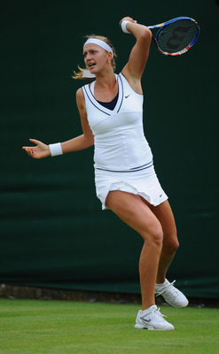 Petra Kvitova defeated Roberta Vinci in the 3rd Round of Wimbledon 2011.
