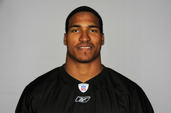 PITTSBURGH, PA - CIRCA 2010: In this handout image provided by the NFL, Da'Mon Cromartie-Smith of the Pittsburgh Steelers poses for his 2010 NFL headshot circa 2010 in Pittsburgh, Pennsylvania. (Photo by NFL via Getty Images)