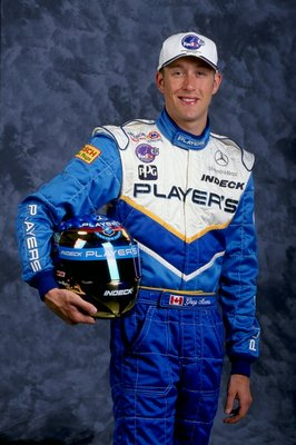 3 Feb 1999:   Greg Moore of Canada drives the Mercedes Reynard 99I for Team Player''s Forsythe Racing poses for a picture during the CART Testing at the Homestead Raceway in Homestead, Florida. Mandatory Credit: Jamie Squire  /Allsport