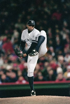 """El Duque"" prepares to stifle the Boston Red Sox in the 1999 ALCS"