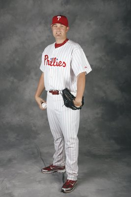 CLEARWATER, FL - FEBRUARY 20:  Drew Carpenter #63 of the Philadelphia Phillies poses for a photo during Spring Training Photo day on February 20, 2009 at Bright House Networks Field in Clearwater, Florida.  (Photo by Chris Graythen/Getty Images)