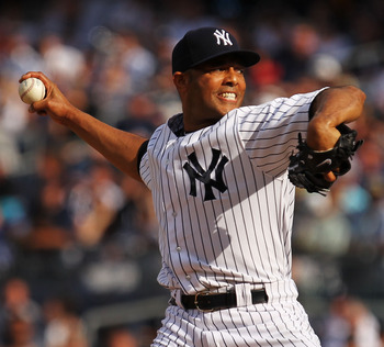 NEW YORK, NY - JUNE 26:  Mariano Rivera #42 of the New York Yankees pitches against the Colorado Rockies during their game on June 26, 2011 at Yankee Stadium in the Bronx borough of New York City.  (Photo by Al Bello/Getty Images)