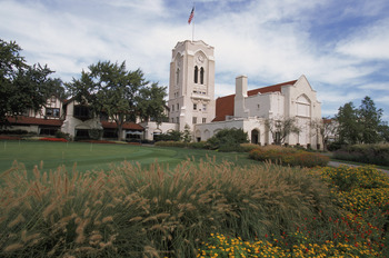 OLYMPIA FIELDS, IL - SEPTEMBER 17:  General view of the clubhouse at Olympia Fields Country Club, site of the 2003 US Open Golf Championship, in Olympia Fields, Illinois on Spetmeber 17, 2002.  (Photo by: Jonathan Daniel/Getty Images)
