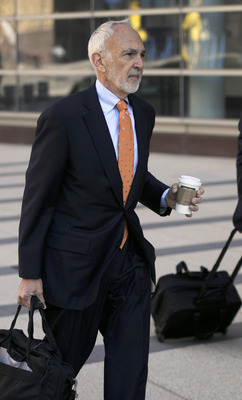 MINNEAPOLIS, MN - MAY 17:  NFL lawyer Bob Batterman arrives for court ordered mediation at the U.S. Courthouse on May 17, 2011 in Minneapolis, Minnesota. As the NFL lockout remains in place mediation was ordered after a hearing on an antitrust lawsuit fil
