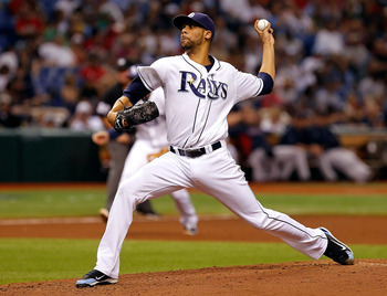 ST PETERSBURG, FL - JUNE 16:  Pitcher David Price #14 of the Tampa Bay Rays pitches against the Boston Red Sox during the game at Tropicana Field on June 16, 2011 in St. Petersburg, Florida.  (Photo by J. Meric/Getty Images)