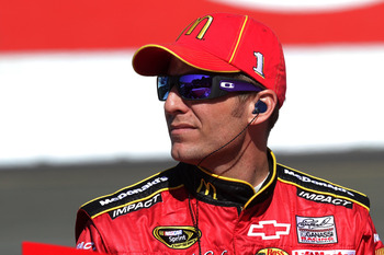 SONOMA, CA - JUNE 24:  Jamie McMurray, driver of the #1 McDonald's Chevrolet, looks on during qualifying for the NASCAR Sprint Cup Series Toyota/Save Mart 350 at Infineon Raceway on June 24, 2011 in Sonoma, California.  (Photo by Jerry Markland/Getty Imag