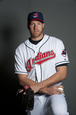 GOODYEAR, AZ - FEBRUARY 22: Zach McAllister #69 of the Cleveland Indians poses during their photo day at the Cleveland Indians Spring Training Complex on February 22, 2011 in Goodyear, Arizona. (Photo by Rob Tringali/Getty Images)