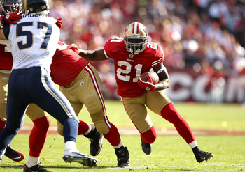 Frank Gore will be counted on to return from last year's injury