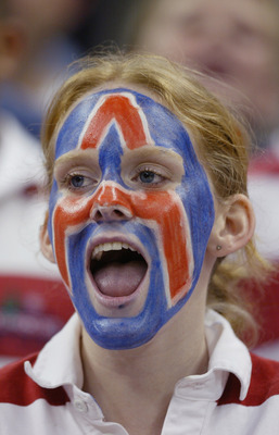 RALEIGH, NC - MARCH 18:  A member of the Arizona Wildcats band during the first round game of the NCAA Division I Men's Basketball Tournament against the Seton Hall Pirates at the RBC Center on March 18, 2004 in Raleigh, North Carolina. The Pirates won 80