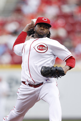 CINCINNATI, OH - JUNE 22: Johnny Cueto #47 of the Cincinnati Reds pitches against the New York Yankees at Great American Ball Park on June 22, 2011 in Cincinnati, Ohio. (Photo by Joe Robbins/Getty Images)