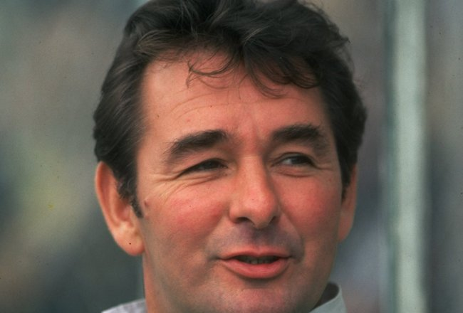 Oct 1980:  Portrait of Nottingham Forest Manager Brian Clough. \ Mandatory Credit: Allsport UK /Allsport