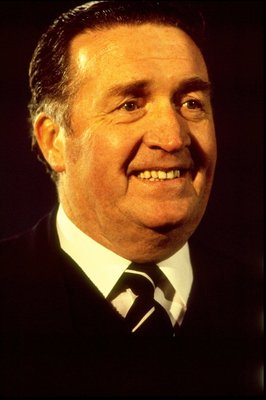 1980:  Portrait of Jock Stein of Scotland. \ Mandatory Credit: Allsport UK /Allsport