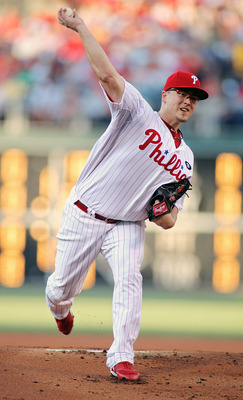 PHILADELPHIA - JUNE 29:  Vance Worley #49 of the Philadelphia Phillies pitches against the Boston Red Sox at Citizens Bank Park on June 29, 2011 in Philadelphia, Pennsylvania. The Phillies defeated the Red Sox 2-1.  (Photo by Len Redkoles/Getty Images)