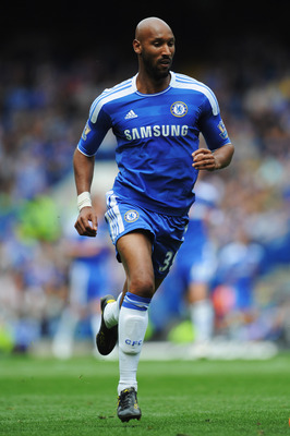 LONDON, ENGLAND - MAY 15:  Nicolas Anelka of Chelsea in action during the Barclays Premier League match between Chelsea and Newcastle United at Stamford Bridge on May 15, 2011 in London, England.  (Photo by Michael Regan/Getty Images)