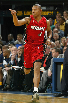 Caron Butler was the Miami Heat's 1st Round Draft Choice in 2002.