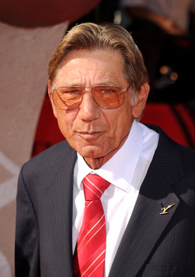 LOS ANGELES, CA - JULY 14:  Former NFL quarterback Joe Namath arrives at the 2010 ESPY Awards at Nokia Theatre L.A. Live on July 14, 2010 in Los Angeles, California.  (Photo by Jason Merritt/Getty Images for ESPY)