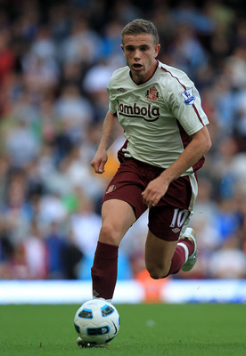 LONDON, ENGLAND - MAY 22:  Jordan Henderson of Sunderland during the Barclays Premier League match between West Ham United and Sunderland at the Boleyn Ground on May 22, 2011 in London, England.  (Photo by David Cannon/Getty Images)