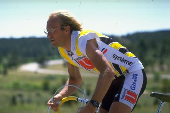 The late Laurent Fignon