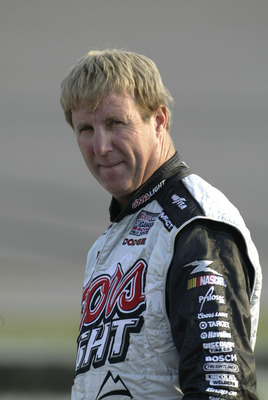 RICHMOND, VA - SEPTEMBER 9:  Sterling Marlin, driver of the #40 Coors Light Dodge, walks to his car before qualifying for the NASCAR Nextel Cup Series Chevy Rock & Roll 400 at the Richmond International Raceway on September 9, 2005 in Richmond, Virginia.