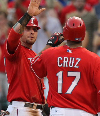 Hamilton and Cruz are the spoon that stirs the Rangers' offense.