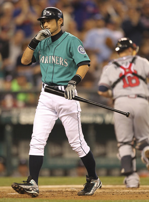 Ichiro, batting .274—is in danger of hitting below .300 for the first time in his big league career.