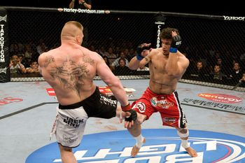 Perhaps no two men have shared as much hatred inside and outside the Octagon as Frank Mir and Brock Lesnar.