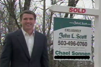 Chael Sonnen working as a realtor