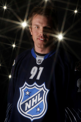 RALEIGH, NC - JANUARY 30:  Brad Richards #91 of the Dallas Stars poses for a portrait before the 58th NHL All-Star Game at RBC Center on January 30, 2011 in Raleigh, North Carolina.  (Photo by Bruce Bennett/Getty Images)
