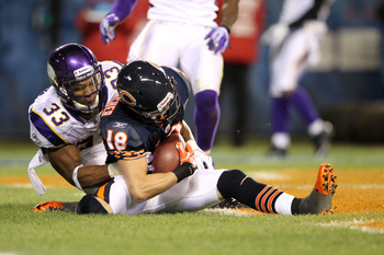 Why a picture of Dane Sanzenbacher? Cause he's the Bears best receiver.