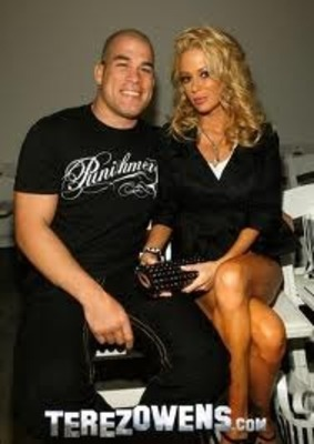 Tito Ortiz pictured with former wife Jenna Jameson