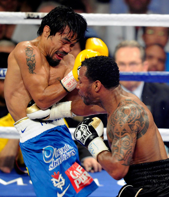 Pacquiao may have lost a step against Mosley