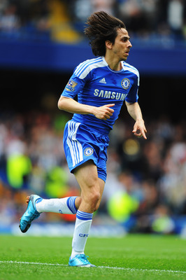 LONDON, ENGLAND - MAY 15:  Yossi Benayoun of Chelsea in action during the Barclays Premier League match between Chelsea and Newcastle United at Stamford Bridge on May 15, 2011 in London, England.  (Photo by Mike Hewitt/Getty Images)