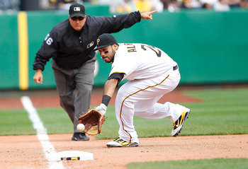 Four opening day starters for the Pirates are currently on the disabled list, including third baseman Pedro Alvarez.