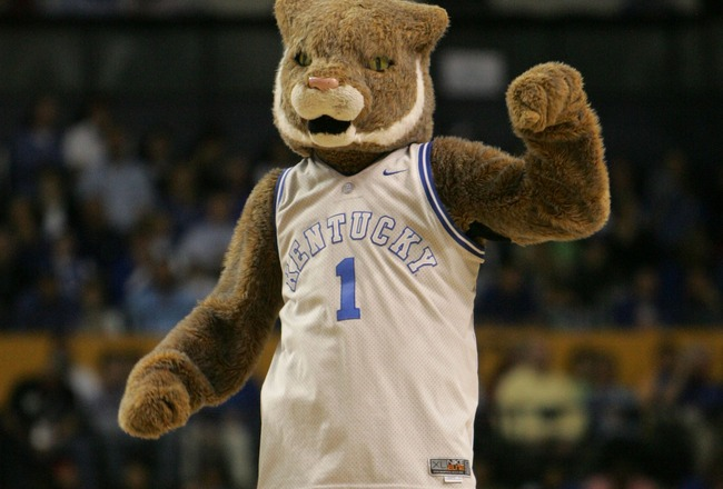 Kentucky Wildcats Mascot Name