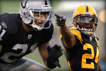 Nnamdi Asomugha and Ike Taylor