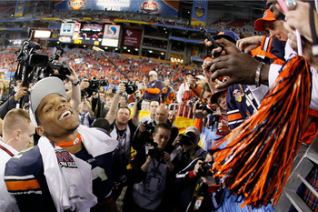 No doubt it ate up Gator fans to see confetti falling down on Cam Newton after the former Gator quarterback led Auburn to the 2010 BCS national championship the same year he won the Heisman for the Tigers.