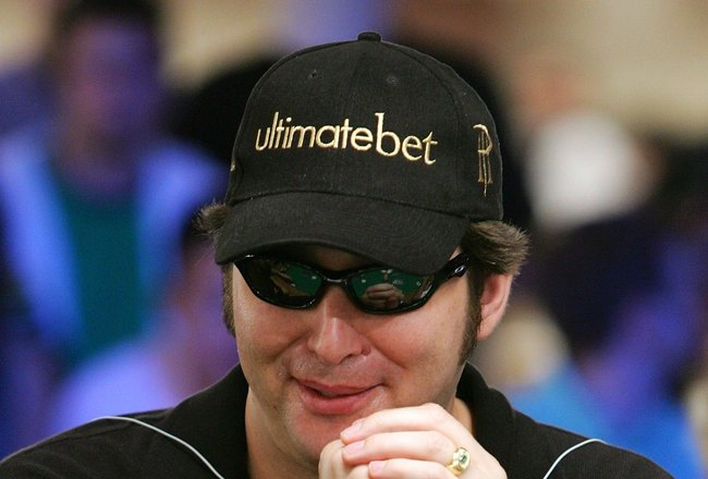LAS VEGAS - JULY 29:  Poker player Phil Hellmuth competes on the second day of the first round of the World Series of Poker no-limit Texas Hold 'em main event at the Rio Hotel & Casino July 29, 2006 in Las Vegas, Nevada. More than 8,600 players have regis