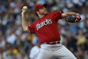 Josh Collmenter of the Arizona Diamondbacks