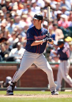 SAN FRANCISCO, CA - JUNE 23:  Joe Mauer #7 of the Minnesota Twins bats against the San Francisco Giants at AT&amp;T Park on June 23, 2011 in San Francisco, California.  (Photo by Ezra Shaw/Getty Images)