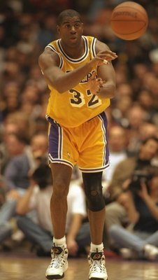 Magic Johnson... Champion