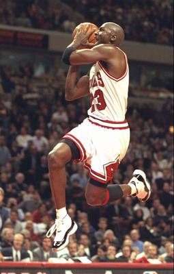 Michael Jordan... Flying Machine
