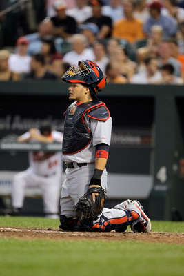 Yadier Molina is one of the best defensive catchers in the the majors.