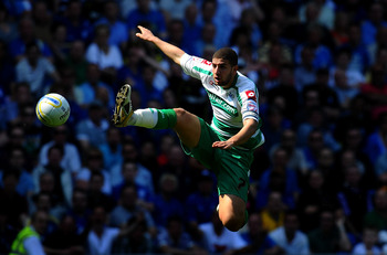 CARDIFF, WALES - APRIL 23:  QPR  player Adel Taarabt in action during the npower Championship game between Cardiff City and Queens Park Rangers at Cardiff City Stadium on April 23, 2011 in Cardiff, Wales.  (Photo by Stu Forster/Getty Images)