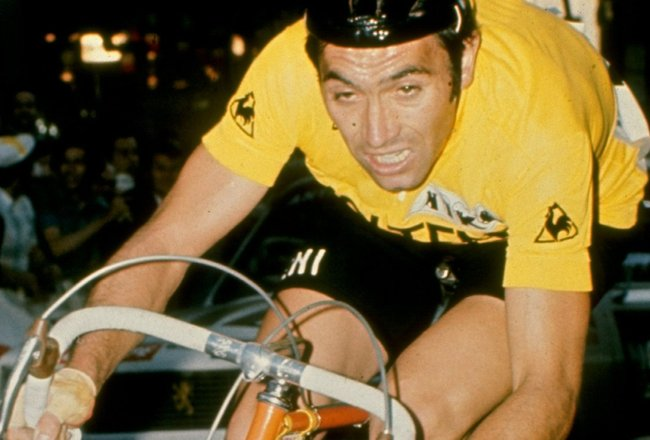 Undated:  Eddie Merckx of Belgium in action during the Tour de France, France. \ Mandatory Credit: Allsport UK /Allsport