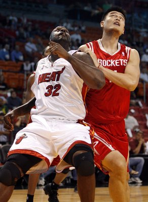 Yao Ming and Shaq