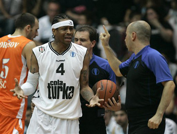 Allen Iverson's stint in Turkey was largely a disappointment