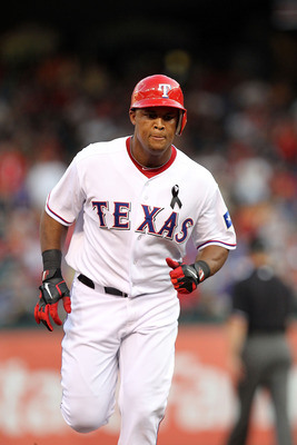 ARLINGTON, TX - JULY 08:  Adrian Beltre #29 of the Texas Rangers at Rangers Ballpark in Arlington on July 8, 2011 in Arlington, Texas.  (Photo by Ronald Martinez/Getty Images)