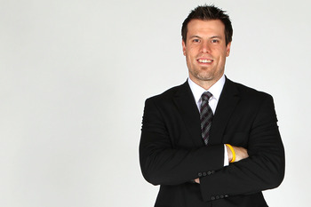 LAS VEGAS, NV - JUNE 22:  Shea Weber of the Nashville Predators poses for a portrait during the 2011 NHL Awards at the Palms Casino Resort June 22, 2011 in Las Vegas, Nevada.  (Photo by Jeff Gross/Getty Images)