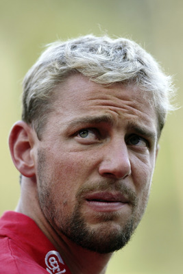 COLOGNE - JULY 16:  A portrait of Stephane Henchoz of Liverpool before the friendly match between FC Cologne and Liverpool at The Rhein Energie Stadium on July 16, 2003 in Cologne, Germany.  Liverpool won the match 3-1.  (Photo by Stuart Franklin/Getty Im